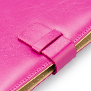 BLUN Tablet-Case ROYALE pink mit Standfunktion universal 8-Zoll