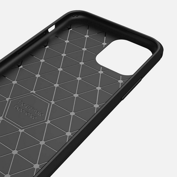 Back-Case CARBON schwarz für Samsung Galaxy S21 Ultra