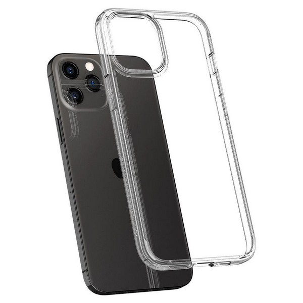 SPIGEN Ultra Hybrid Crystal Clear Backcase für Apple iPhone 12| iPhone 12 Pro