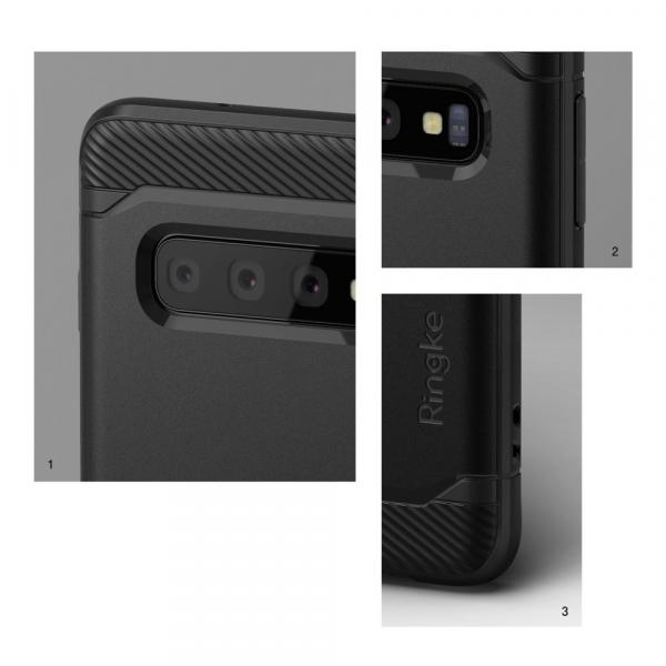 Ringke Onyx Durable TPU Case Cover for Samsung Galaxy S10 black (OXSG0014)