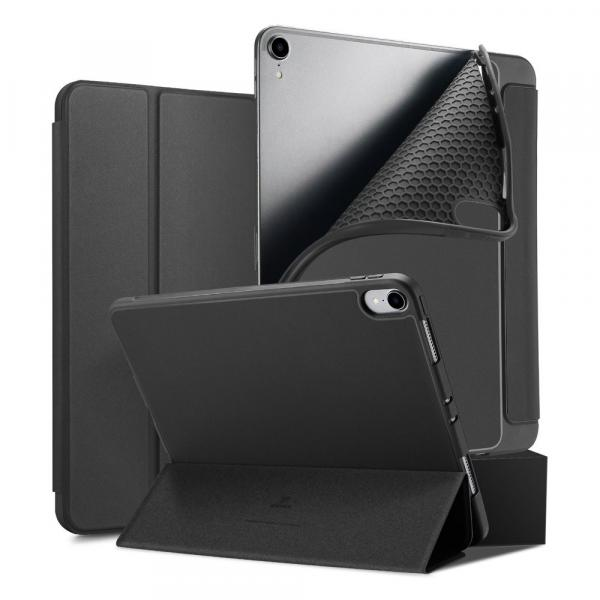 DUX DUCIS Osom TPU gel tablet cover with multi-angle stand and Smart Sleep function for iPad Pro 11'' 2018 black