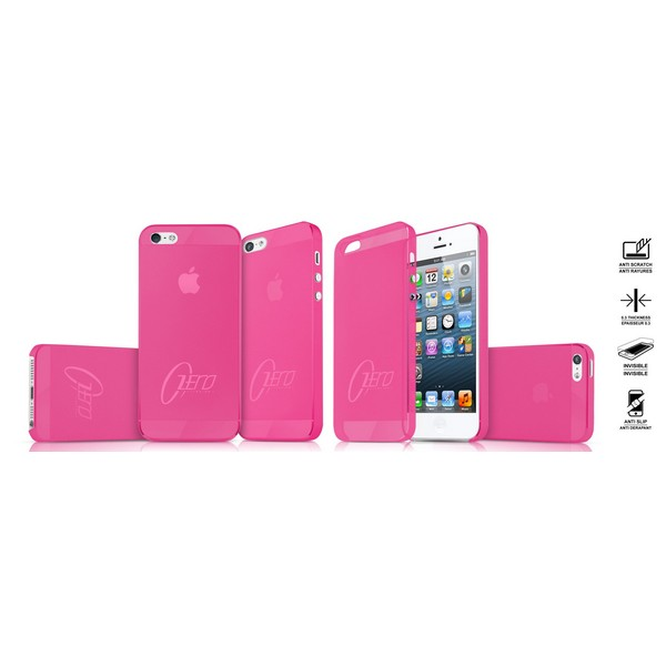 ITSKINS ZERO.3 ultradünnes Backcover 0.3mm pink für Apple iPhone 5| iPhone 5G| iPhone 5S| iPhone SE|