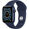 Smartwatch Apple Watch 6 44mm blue with blue Sport Band EU