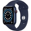Smartwatch Apple Watch 6 40mm blue Aluminium Case with deep navy Sport Band EU
